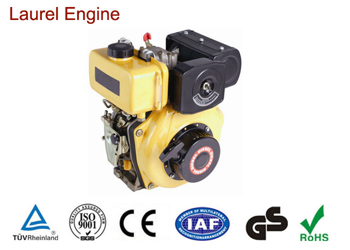 Automobile 10hp 406cc Air Cooled Industrial Diesel Engines