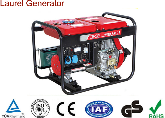 Convenient Operated 5kw Open Type Diesel Generator Battery Powered Generator