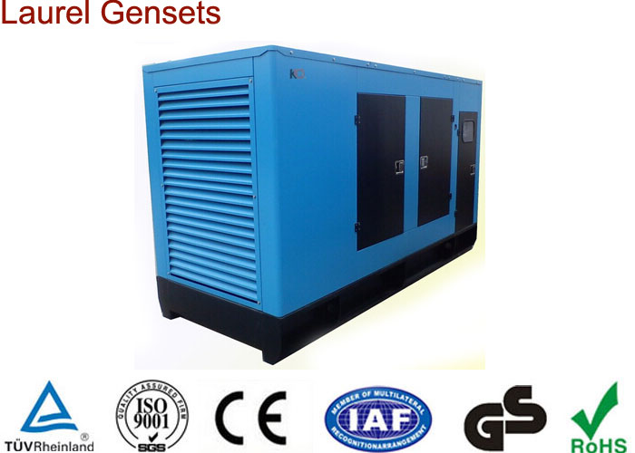 Container Diesel Genset with Low Fuel Consumption and Noise Self-cooled