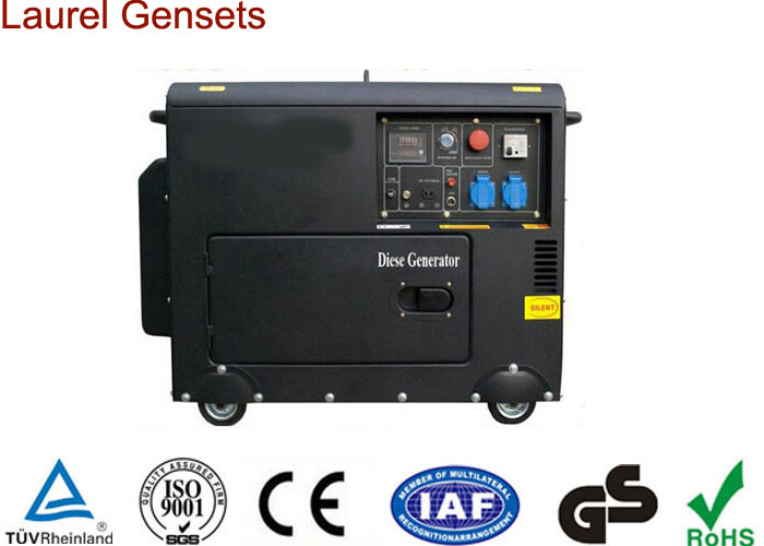Silent Diesel Generator 5.5kw Electric Start