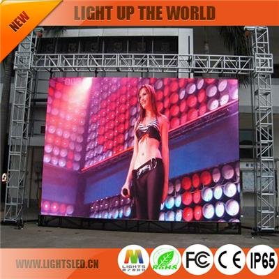 P8 Rental Led Display Cabinet