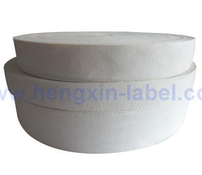 Natural White Soft Poly Cotton Label