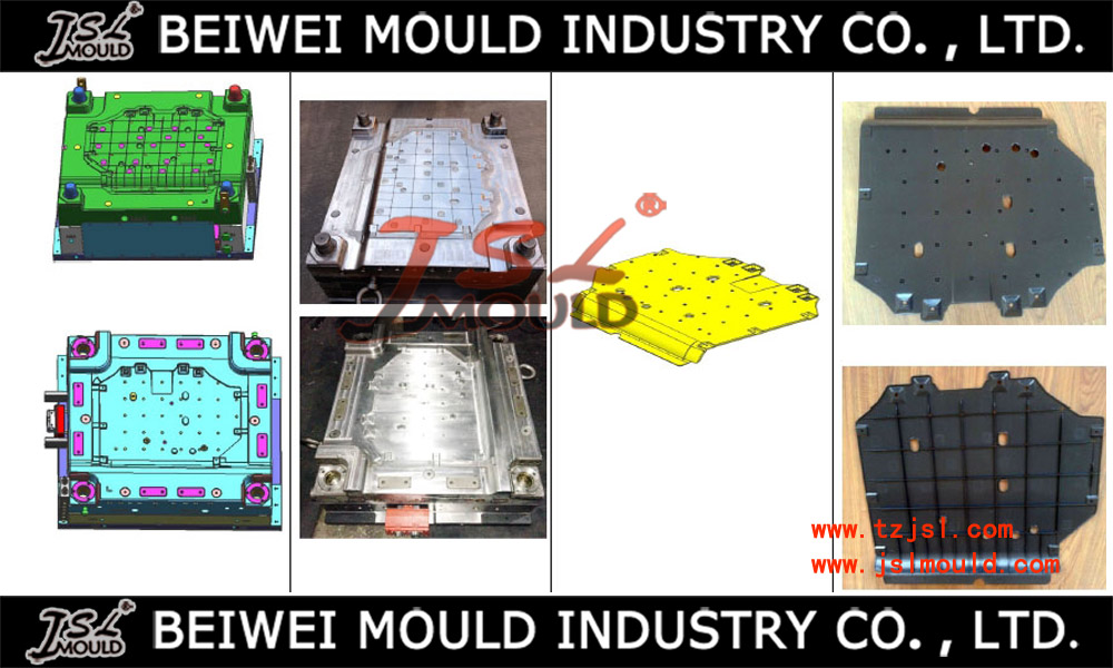 OEM Custom injection plastic auto engine cover mould