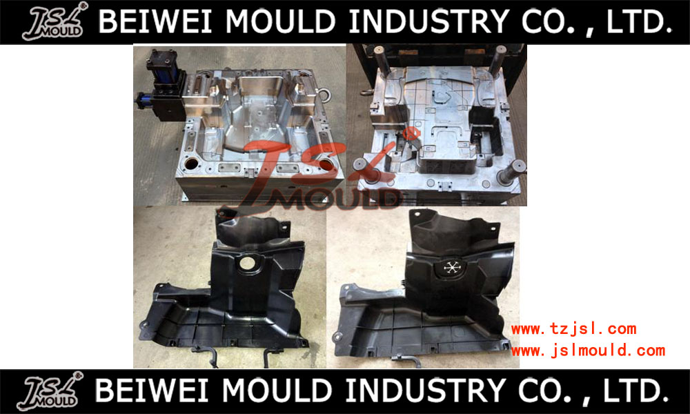 Injection Plastic auto fender mudguard mould