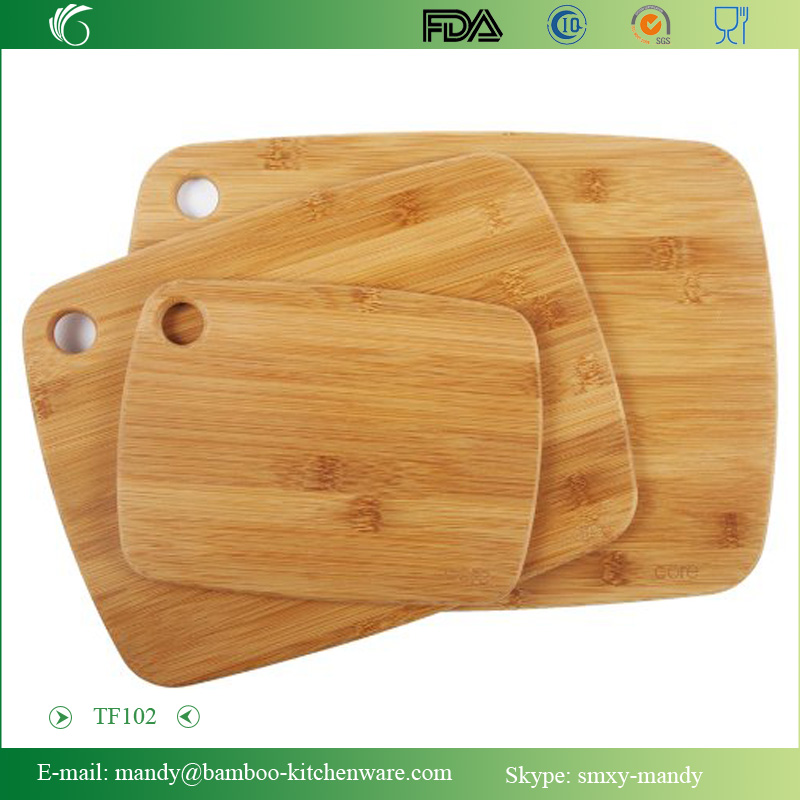 Popular 3-piece Bamboo Cutting Board Set