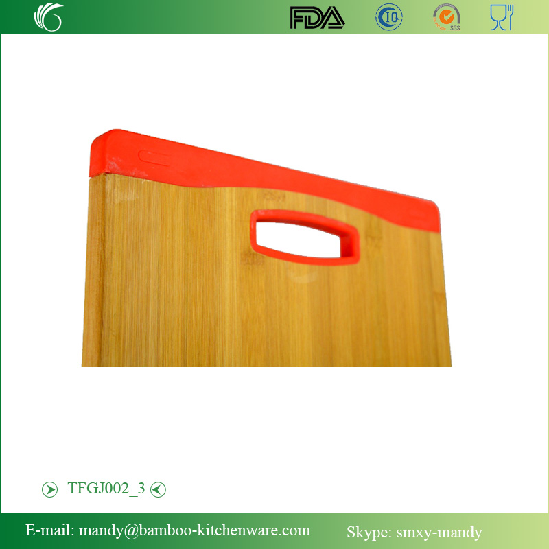 Bamboo Chopping Board with silicone ends