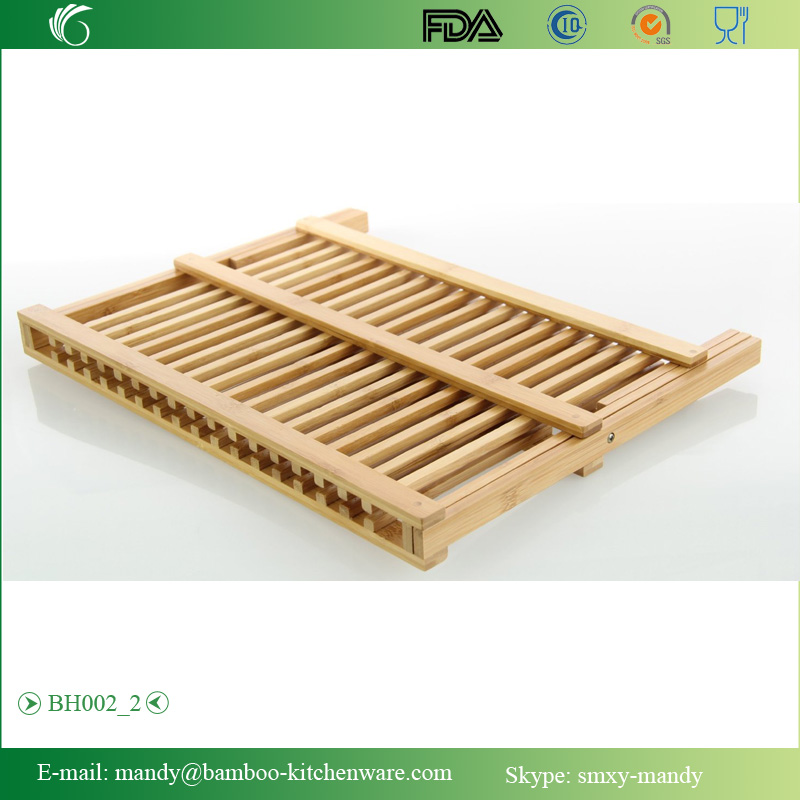 Beautiful Bamboo Chopping Board with decorative tripes