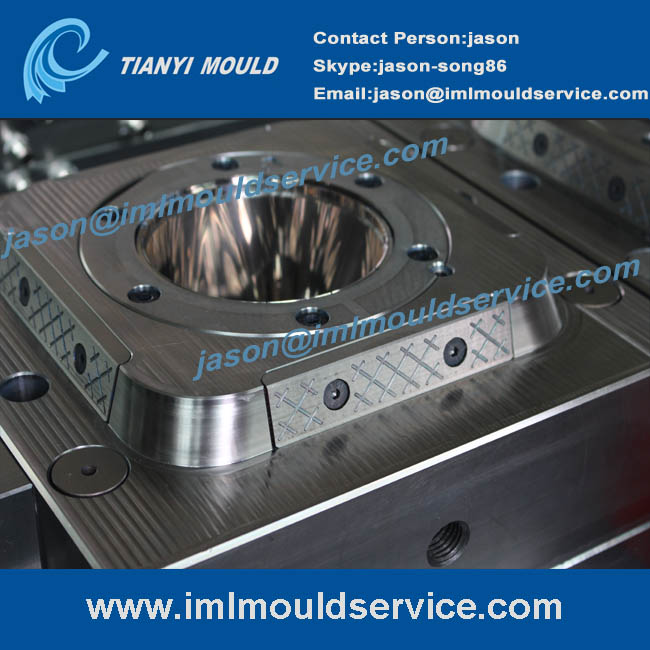 two cavites thin-walled plastic injection food box mould