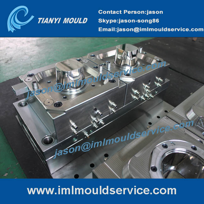 two cavities thin-walls plastic cup injection moulds
