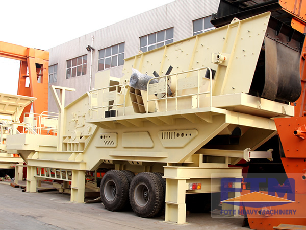 Mobile Crusher: Strong Support for House Quality