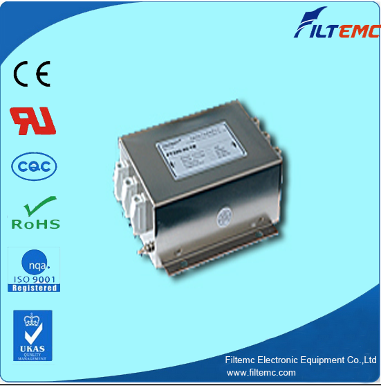 sell AC 3 phase 3 line series filter T3 terminal block/EMI filter