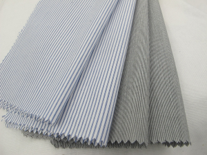 Yarn Dyed Stripe Shirting Fabric