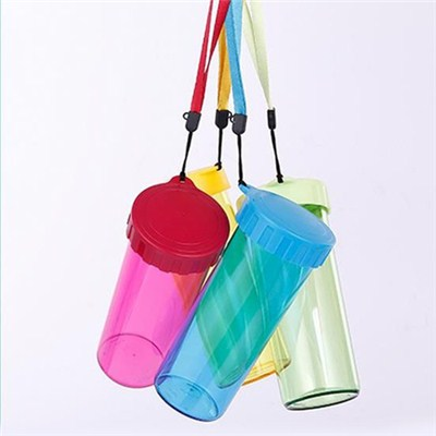 Plastic Cups With Straw And Lid