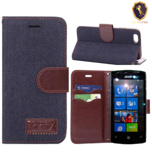 Acer Liquid E700 leather case