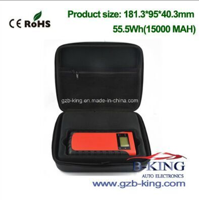 New Arrival High Quality 15000mAh Portable Car Jump Starter (JS-EP43)