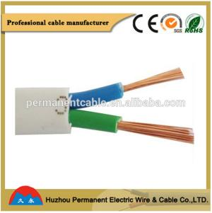 pvc insulated and sheathed cable PVC Insulated Flexible Flat Sheath Cable