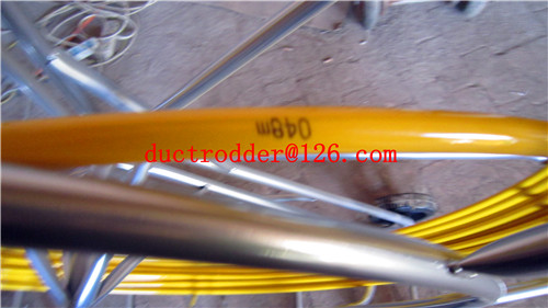 China supply new proucts fiberglass duct rodder cable duct rods