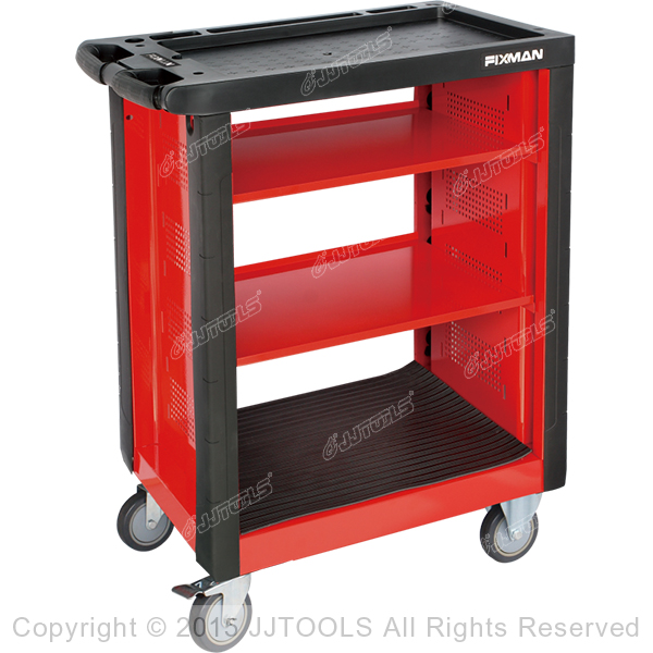 Service Trolley With Plastic Worktop