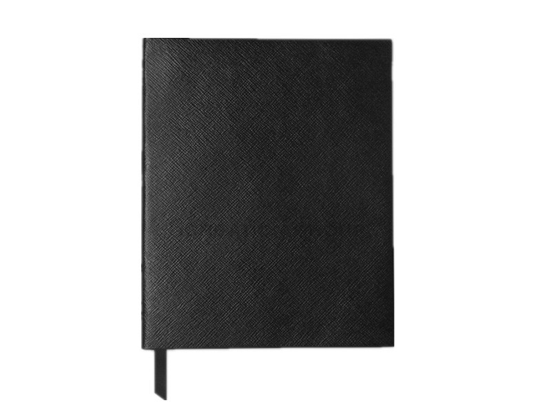 Black Business Leather Journal