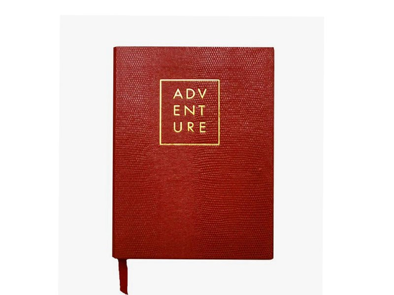 adv End Ure Embossed Custom Made Leather Notebook