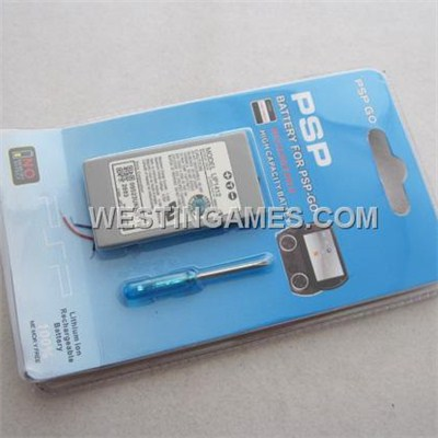 3.7V 1860mAh Replacement Rechargeable Battery With Screwdriver For PSP GO