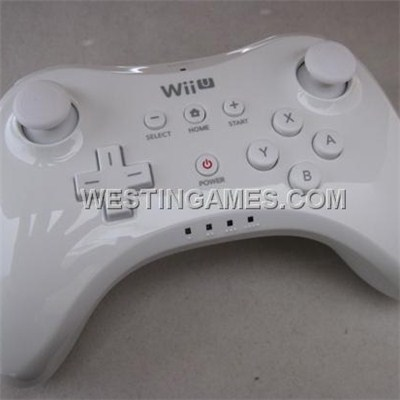 WII U Pro Controller W/ USB Charging Cable For Nintendo WII U - White