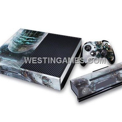 Crystal Epoxy Skin Sticker Colourful For Xbox ONE System + Wireless Controller Decal - 50 Themes