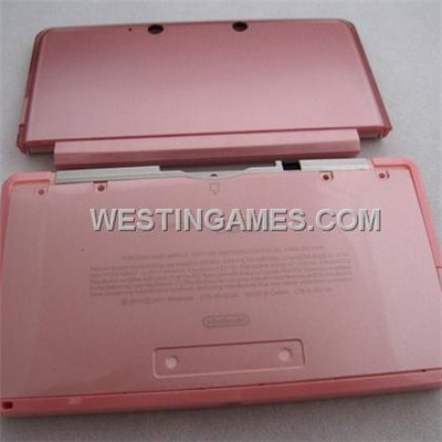 Replacement Full Housing Shell Case With Buttons And Screws For Nintendo 3DS - Pink