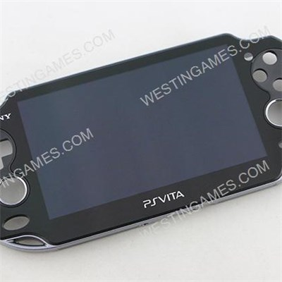 Original Lcd Screen Display + Touch Screen Digitizer Assembly W/ Frame For Sony PS Vita