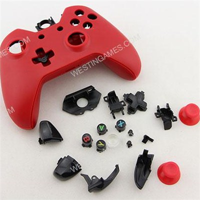 Replacement Complete Housing Shell Case For Xbox ONE Controller - Red