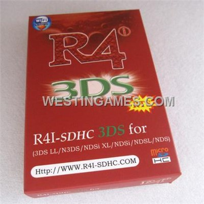 R4i-SDHC RTS Flash Card Luxury Packing For NDSL/DSi/DSixl/3DS/3DSLL