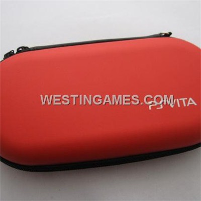 Protective Hard Carry Case For PSV PS VITA - Red