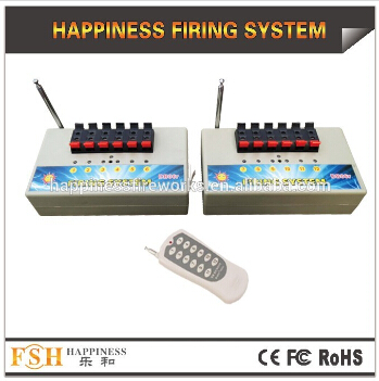 12 channels pyrotechnic remote firing system, control fireworks system