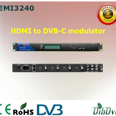 4 Channels HDMI To QAM Modulator