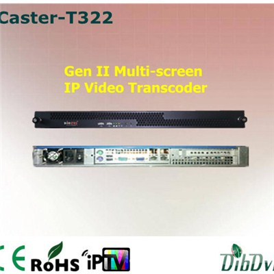 20 CH Multi-screen IPTV Transcoder
