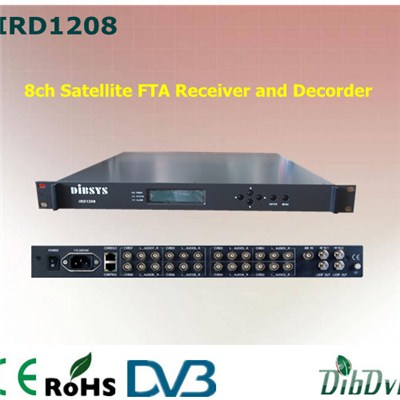 FTA Receiver And Decorder