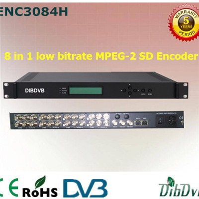 8 in 1 MPEG-2 SD Encoder