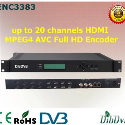 16/20 In 1 HDMI MPEG4 AVC Full HD Encoder