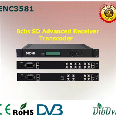 8 Channel Advanced Receiver Transcoder