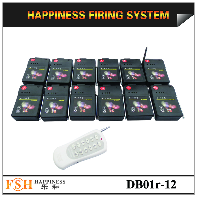 CE passed 12 channels / 12 cues Wireless Remote Control Fireworks Firing System