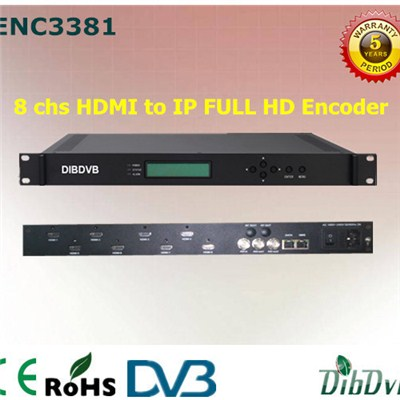8 In 1 MPEG-4 AVC FullHD Encoder