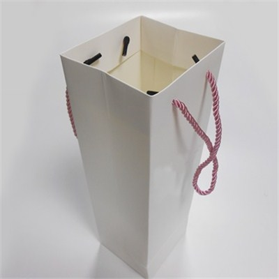 Blank Square Paper Shopping Bags