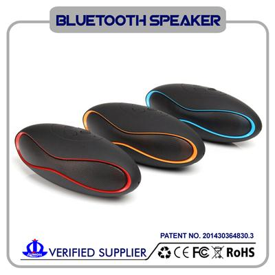 Mini Portable Outdoor Music Bluetooth Speaker With Mic
