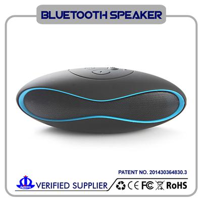 Hands Free Wireless Bluetooth Speaker , Portable Bluetooth Speaker With TF Card Reader