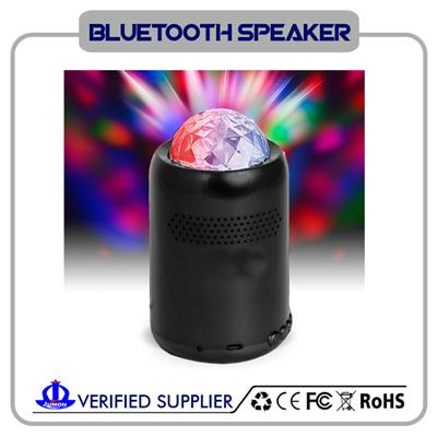 Portable Wireless Bluetooth 3.0 Speaker LED Light Visual Display Mode Powerful Sound With Build In Microphone Support Hands-free Function