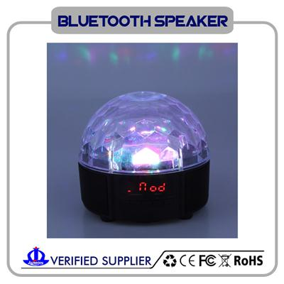Portable Wireless Bluetooth Party Speaker With LED Light And Hands-Free Speakerphone
