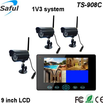 TS-908C 1V3 wireless monitor system