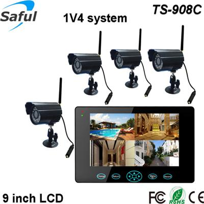 TS-908C 1V4 wireless monitor system