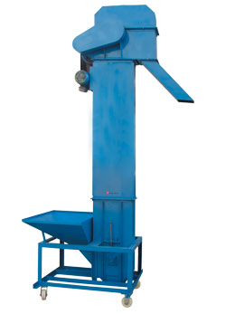 bucket-type lifting machine