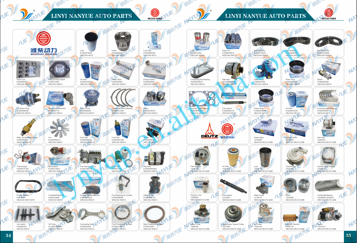 WEICHAI POWER Diesel Engine Parts